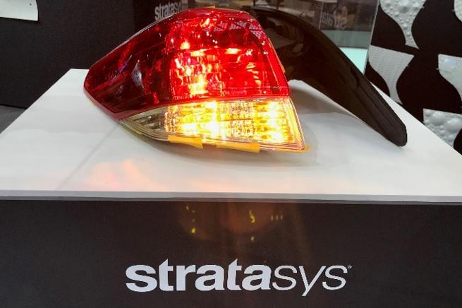 ストラタシス Vivid Color マテリアル テールランプ