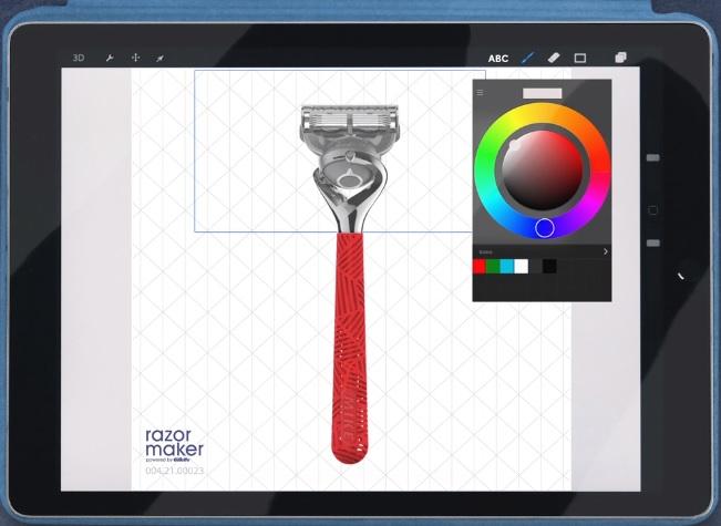 Form2 Formlabs Gillet 3Dプリントシェーバー